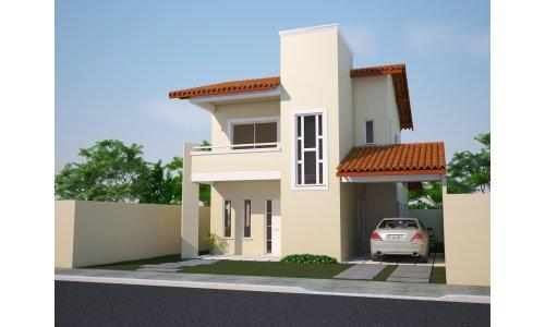Decora o e projetos plantas de casas com fachadas gr tis for Fachadas frontales de casas modernas