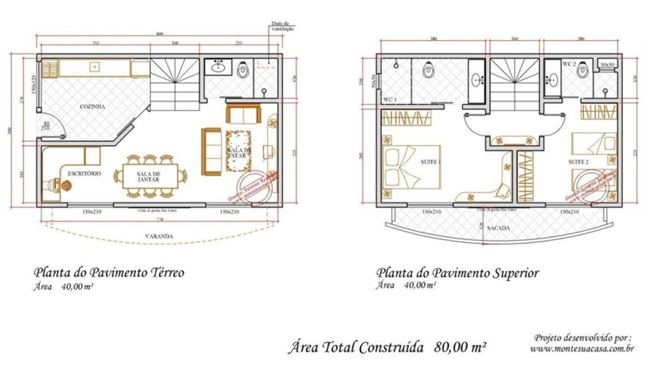 Decoração e Projetos – Projetos de casas com cozinhas grandes #996C32 1300 768