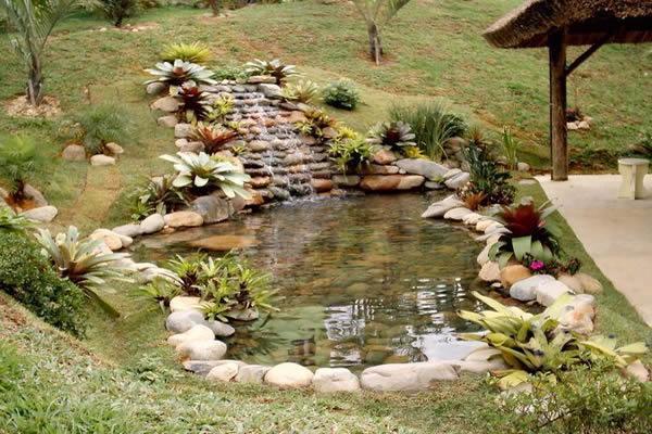 Projetos de lagos ornamentais for Como construir un lago artificial