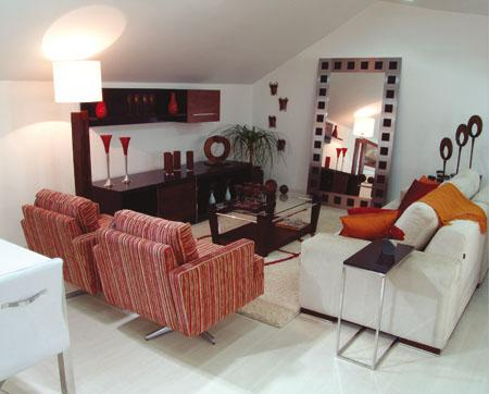 Decora o e projetos salas de estar decoradas com poltronas for Modelos de salas modernas 2016