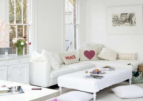 Decoração e Projetos – Salas decoradas com sofás de canto