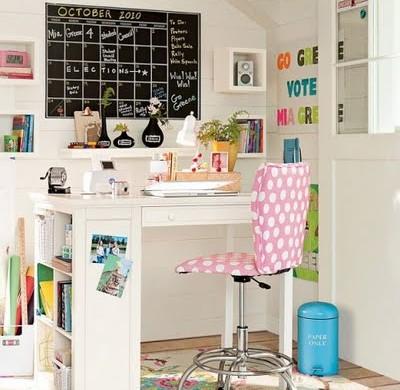 Decora o e projetos como decorar uma escrivaninha for Ideas para decorar mi escritorio