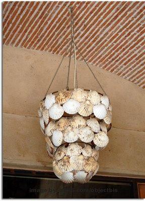 Decora o e projetos decora o com conchas do mar - Decoracion con conchas ...