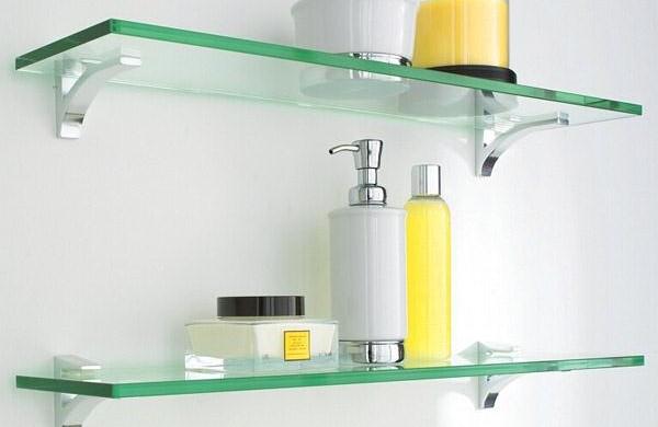 Estante De Vidro Temperado : Estante de vidro para quarto: prateleira de vidro para quarto simple