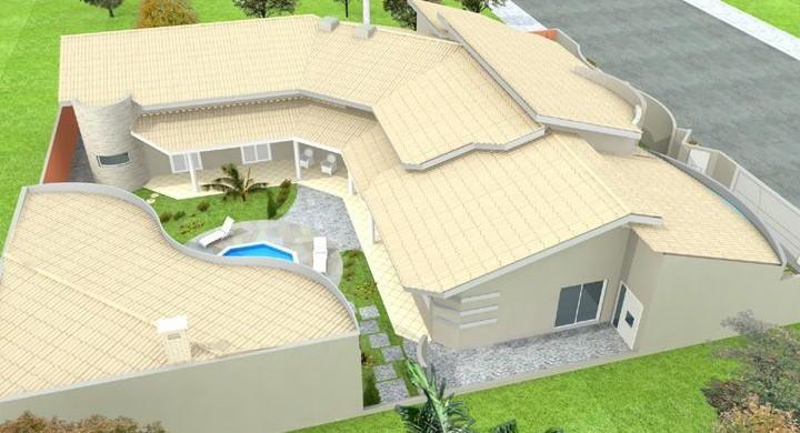 Decora o e projetos plantas de casas em formato de l - Fotos de casas en forma de l ...