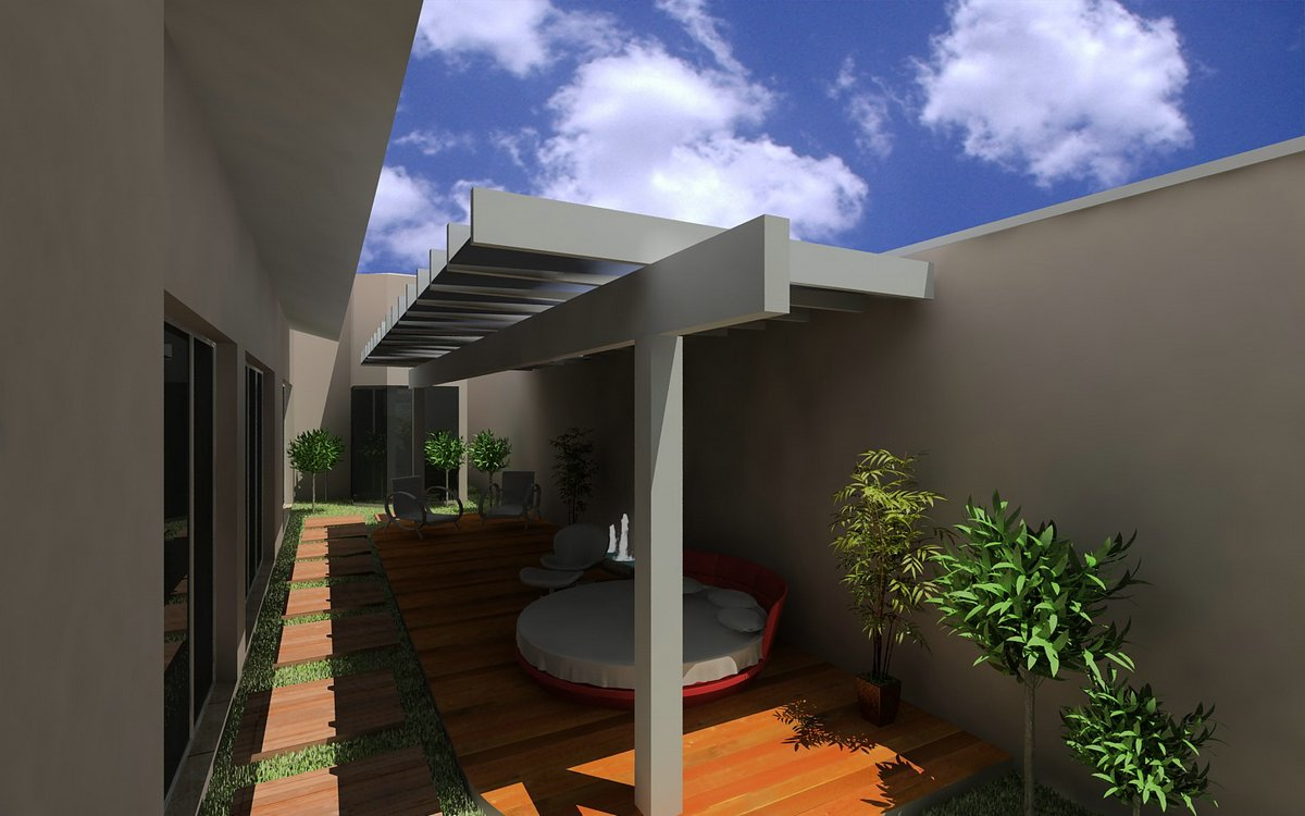 Projetos de casas modernas e pequenas gr tis for Casa moderna gratis