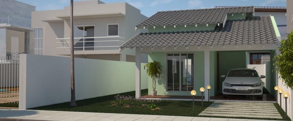 Decora o e projetos projetos de casas modernas e for Casas modernas x dentro