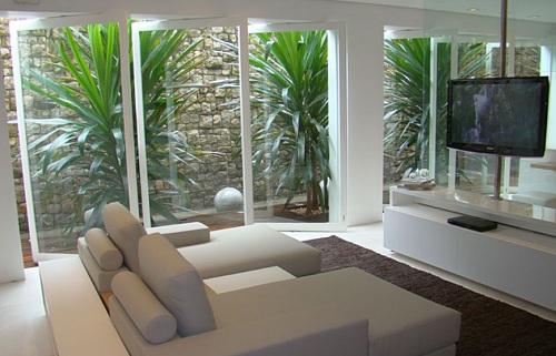 Sala Pequena Com Jardim De Inverno ~ Decoração e Projetos SALAS DECORADAS COM JARDIM DE INVERNO