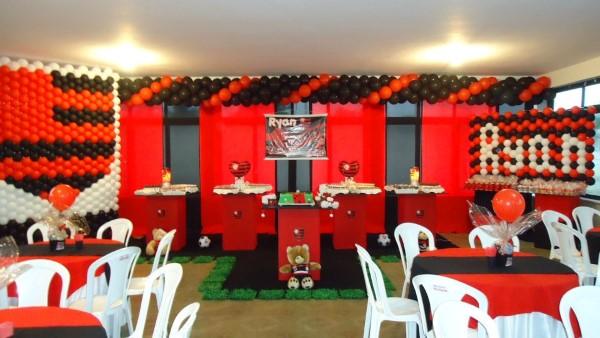 decoração do flamengo rustica