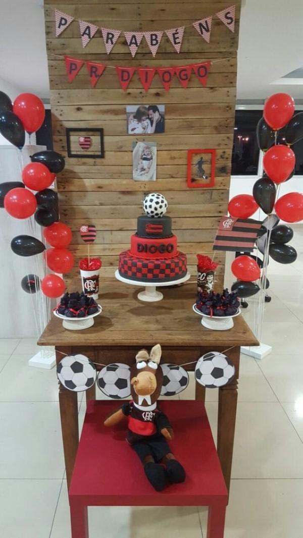 Decoração De Festa Infantil Tema Flamengo