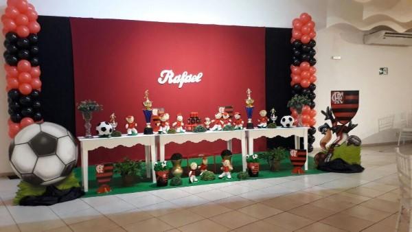 decoração do flamengo para aniversario de criança