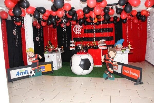 decoração festa flamengo fotos