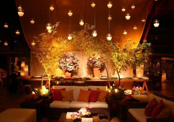 Projetos – Decoração de salão de festas para casamento