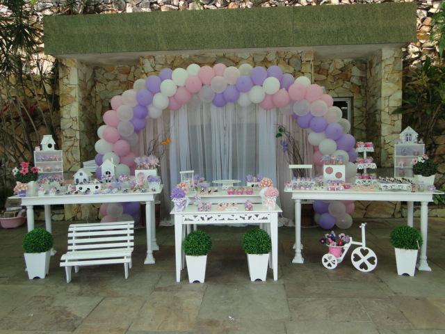 Decoração e Projetos – Decoração provençal para festa infantil
