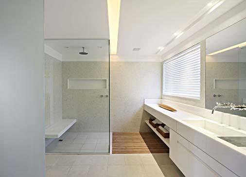 DECORAÇÃO DE GESSO PARA BANHEIRO -> Banheiro Simples E Moderna