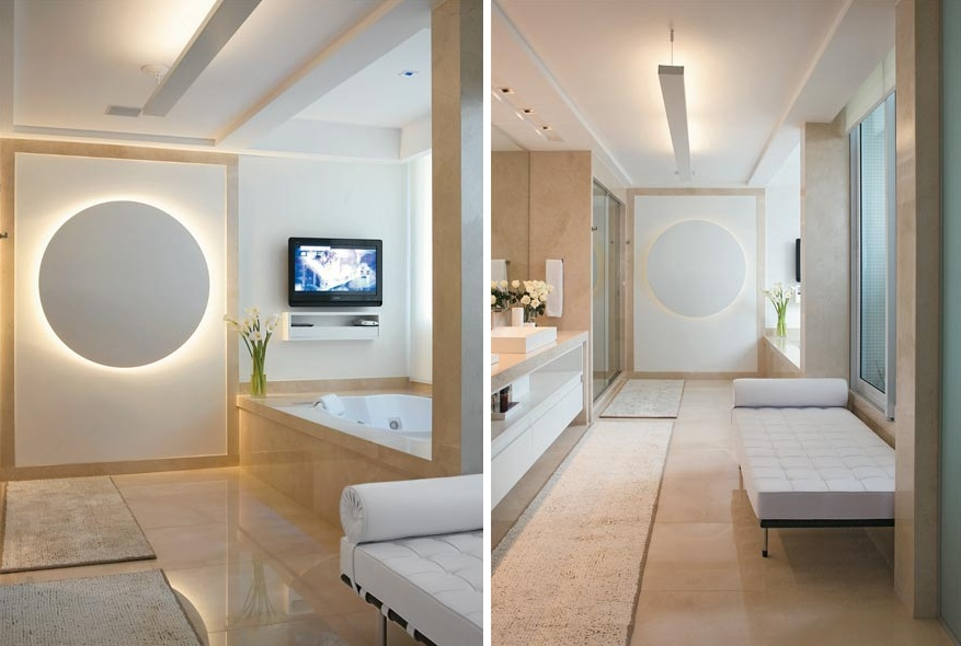 Luminaria Banheiro Gesso : Decora??o e projetos decora??o de gesso para banheiro