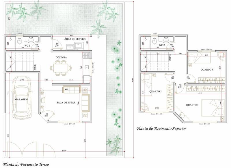 plantas de casas 2 andares gratis