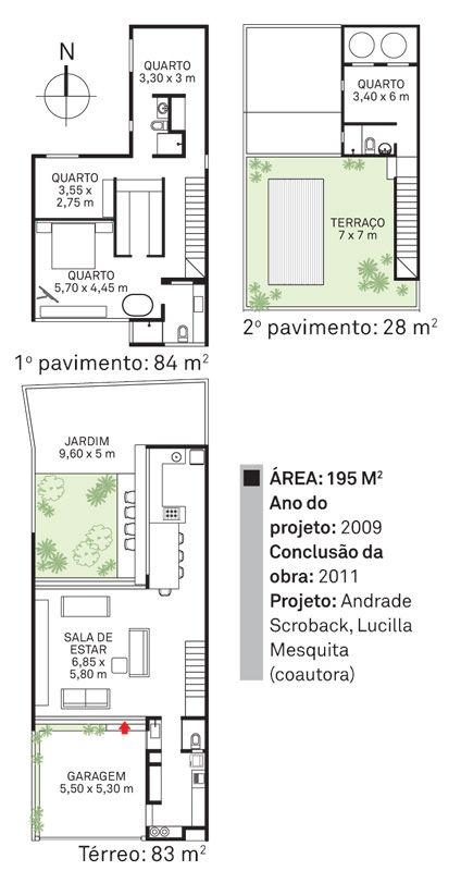 projetos de casas com suite em cima