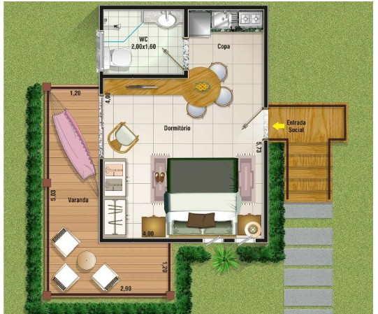 projetos de casas para o campo