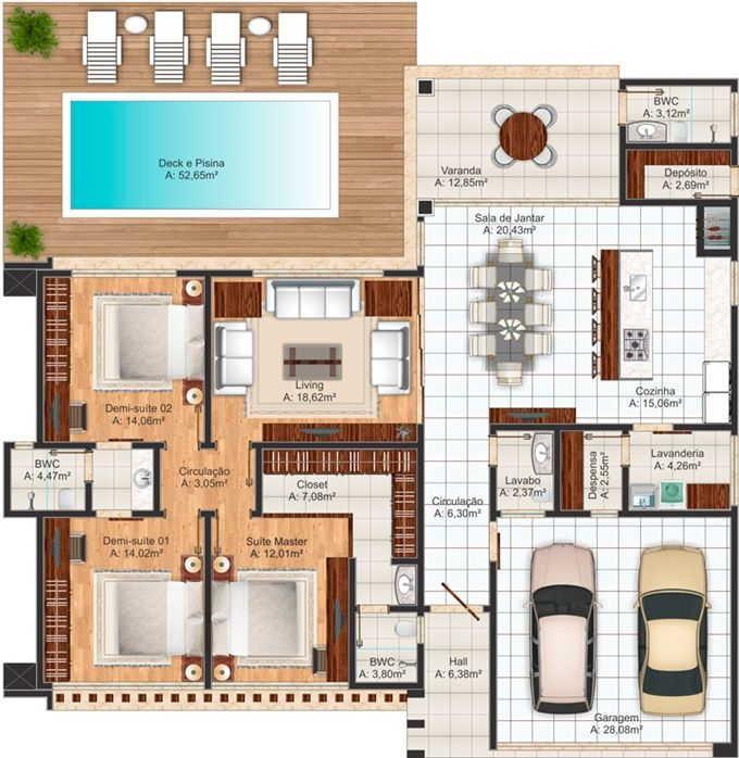 ideias para projetos de casas