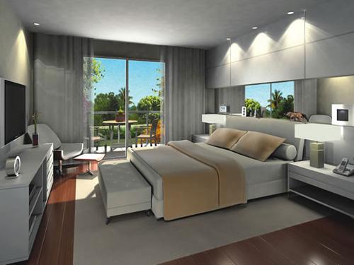 Decoração E Projetos – Decoração De Quartos Com TV~ Decoracao De Apartamentos Pequenos De Luxo