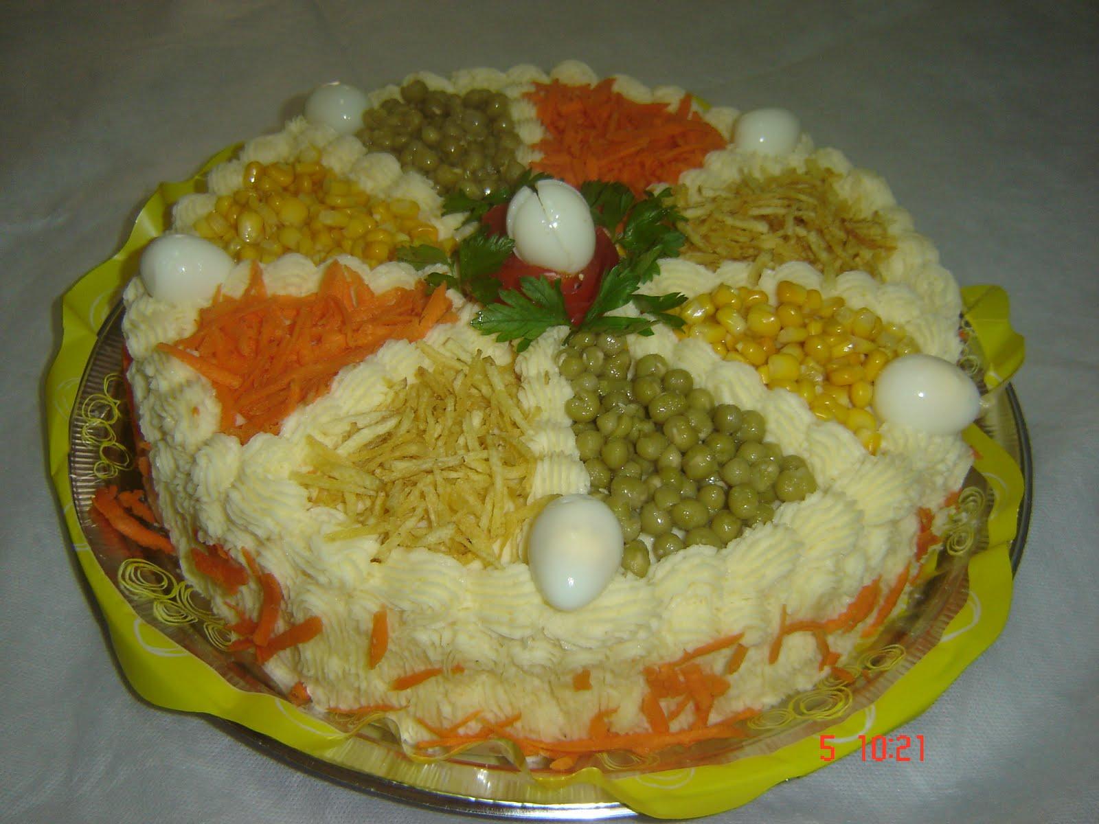 Enfeite De Torta ~ DECORA u00c7ÃO DE TORTAS SALGADAS