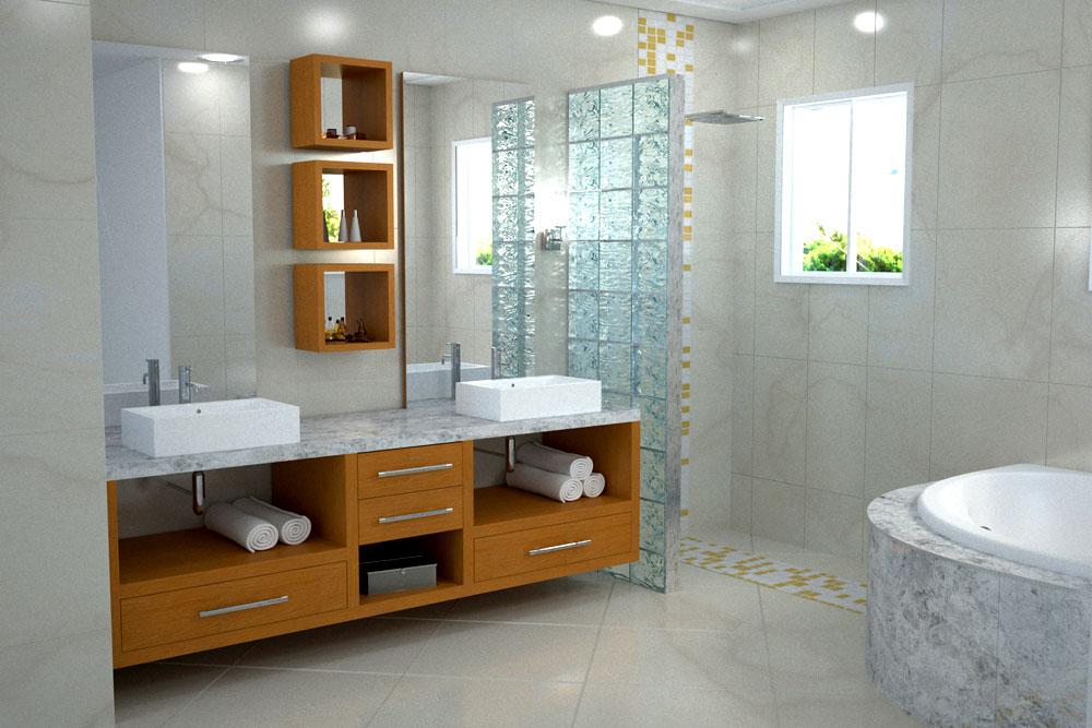 Pics Photos  Banheiro Decorado Com Bloco De Tijolo De Vidro Jpg -> Banheiro Decorado Vidro