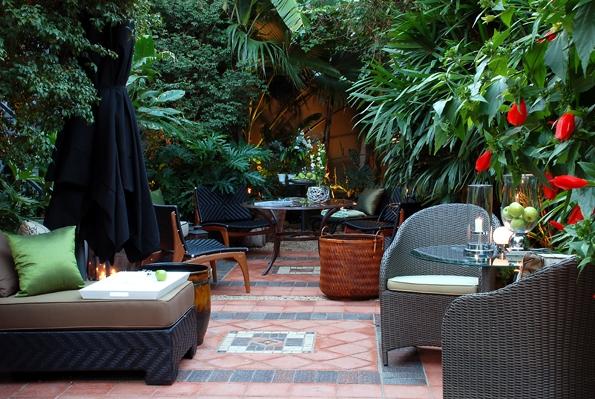 pedras jardim externo : pedras jardim externo:Decoração e Projetos – Decoração de casas com jardim externo