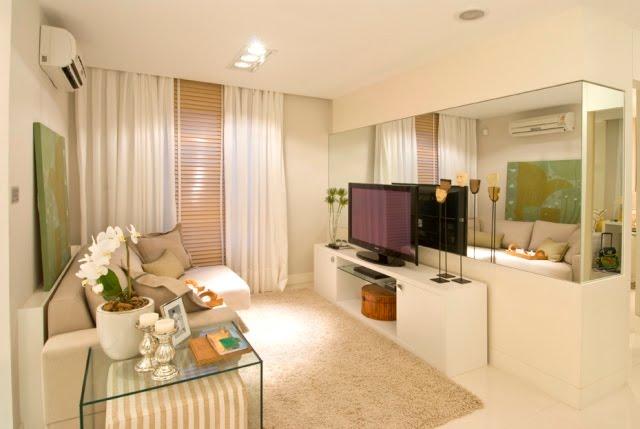 dicas de decoracao de interiores pequenos : dicas de decoracao de interiores pequenos:Como Decorar Una Sala Pequena De Apartamento