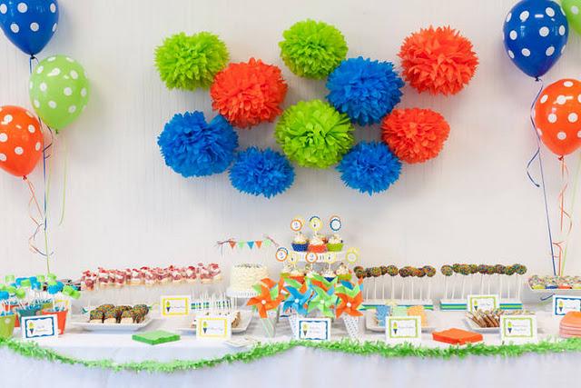 Decora o e projetos como decorar uma festa infantil for Decoracion infantil barata