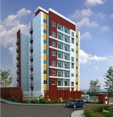 Decora o e projetos fachadas de apartamentos pequenos for Fachadas para apartamentos pequenos