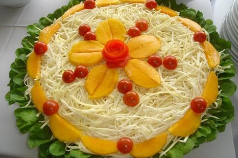 Decoração pratos culinarios