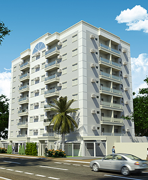 Fachadas de apartamentos pequenos for Fachadas apartamentos modernos