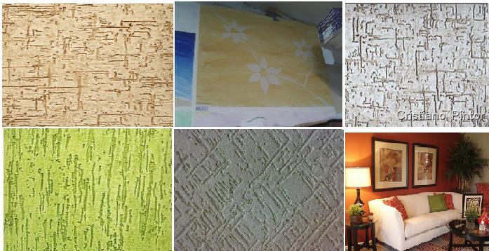 Texturas Em Paredes Internas Po A Po