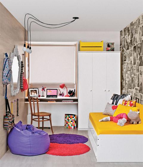 7 Small Bedroom Designs By Professional Experts: Decoração E Projetos DECORAÇÃO PARA PAREDE DE QUARTO FEMININO