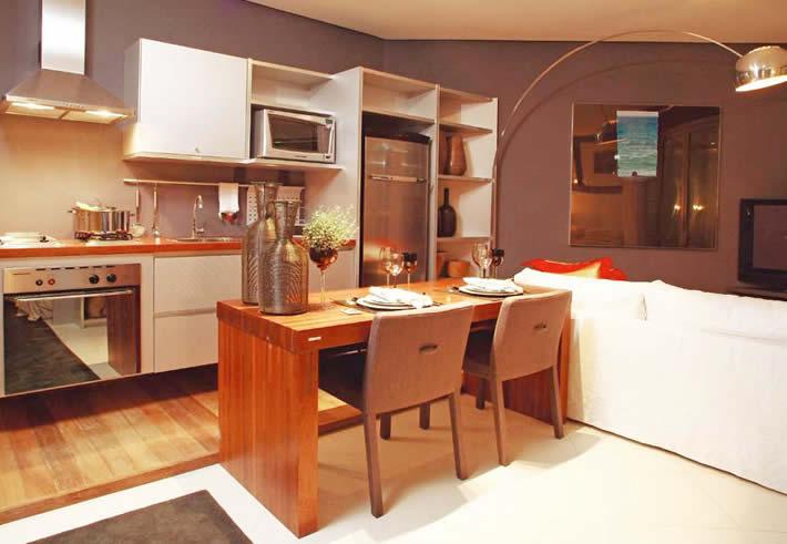 decoracao de ambientes pequenos e integrados : decoracao de ambientes pequenos e integrados: Projetos – Ambientes integrados: confira sala e cozinha