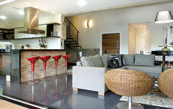 Sala De Jantar E Cozinha ~ Decoração e Projetos AMBIENTES INTEGRADOS CONFIRA SALA E COZINHA