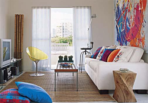 Decoração E Projetos – Idéias Para Decorar Uma Sala Pequena~ Decoracao De Casas Interiores Fotos
