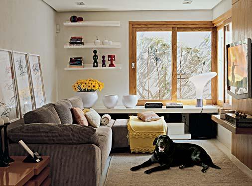 ideias e projetos de decoracao de interiores:Decoração e Projetos – Idéias para decorar uma sala pequena