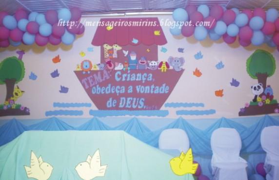 decoracao de sala infantil escola dominical:Como Decorar Uma Sala De Escola Dominical Para Juniores