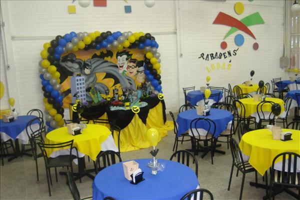 decoracao festa batman: Projetos – Decoração de festa infantil do Batman com fotos
