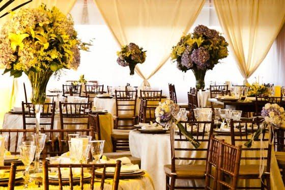 Decoração e Projetos – Cores para decoração de casamento em 2012