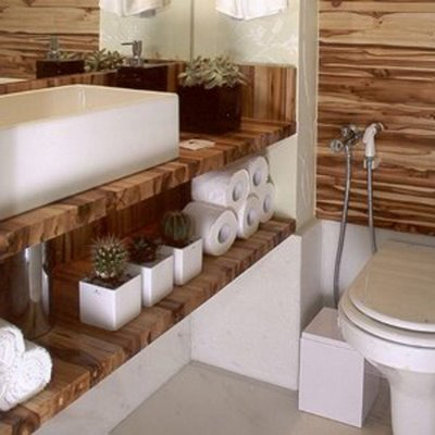 Lavabos decorados pequenos fotos for Fotos lavabos