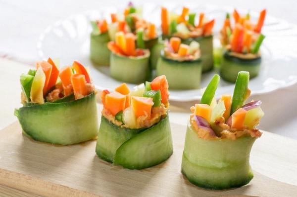 saladas decoradas para festas