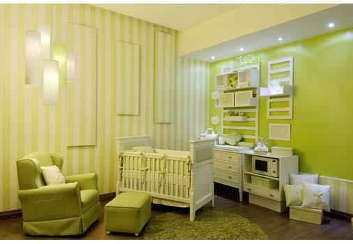 Decoração e Projetos – Decoração para quarto de recém nascido ~ Cores Para Quarto De Bebe Verde