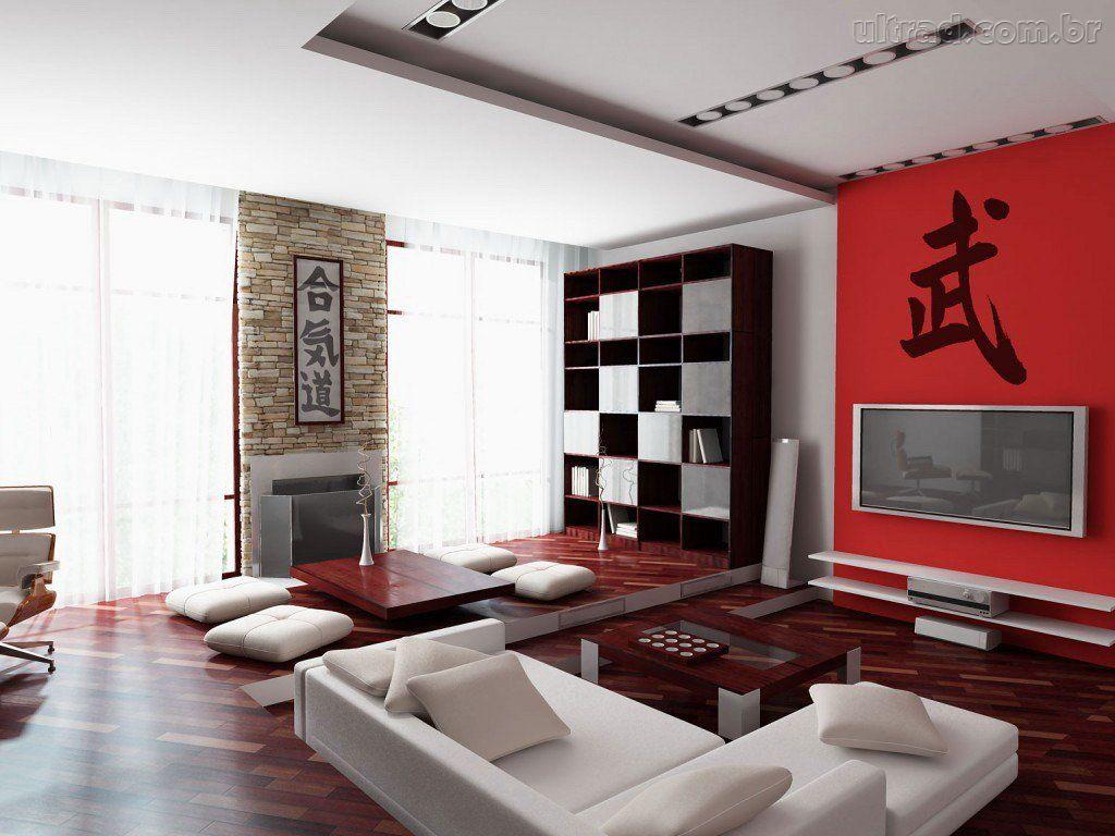 Tv Na Parede Da Sala Dicas De Decora O -> Adesivo Decorativo Na Parede De Tv