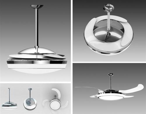 Ventiladores de teto modernos e bonitos - Ventiladores modernos de techo ...