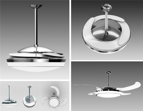 Ventiladores de teto modernos e bonitos for Ventiladores de pared baratos