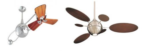 Decora o e projetos ventiladores de teto modernos e bonitos - Ventiladores decorativos ...
