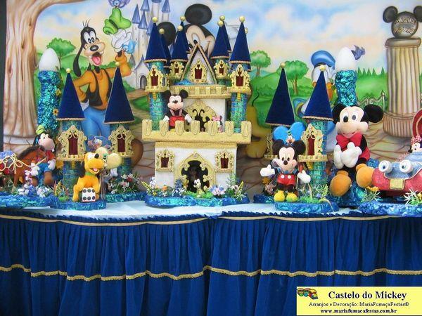 decoracao festa mickey : decoracao festa mickey:Decoração Do Mickey Para Festa Infantil Pictures